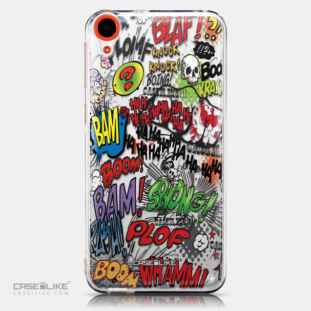 CASEiLIKE HTC Desire 820 back cover Comic Captions 2914
