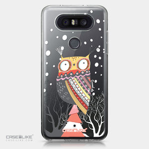 LG Q8 case Owl Graphic Design 3317 | CASEiLIKE.com