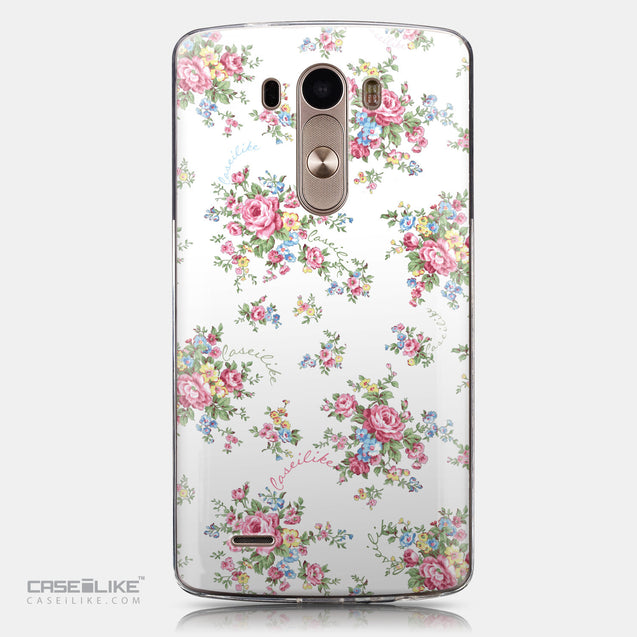 CASEiLIKE LG G3 back cover Floral Rose Classic 2260
