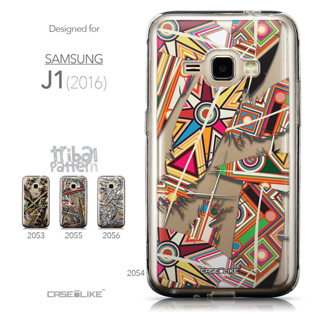 Collection - CASEiLIKE Samsung Galaxy J1 (2016) back cover Indian Tribal Theme Pattern 2054