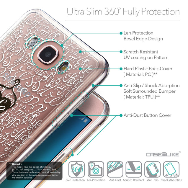 Details in English - CASEiLIKE Samsung Galaxy J7 (2016) back cover Indian Tribal Theme Pattern 2053