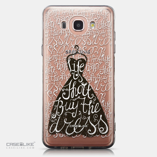 CASEiLIKE Samsung Galaxy J7 (2016) back cover Quote 2404