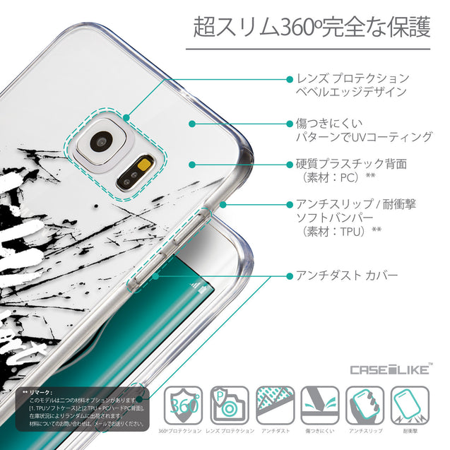 Details in Japanese - CASEiLIKE Samsung Galaxy S6 Edge Plus back cover Quote 2416