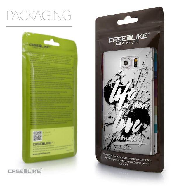 Packaging - CASEiLIKE Samsung Galaxy S6 Edge Plus back cover Quote 2416