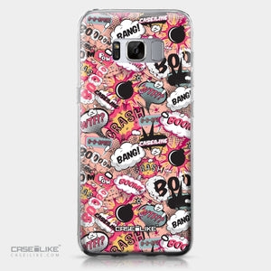 Samsung Galaxy S8 case Comic Captions Pink 2912 | CASEiLIKE.com