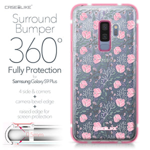 Samsung Galaxy S9 Plus case Flowers Herbs 2246 Bumper Case Protection | CASEiLIKE.com