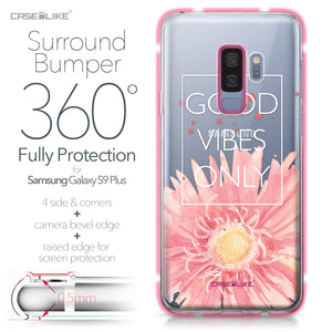 Samsung Galaxy S9 Plus case Gerbera 2258 Bumper Case Protection | CASEiLIKE.com