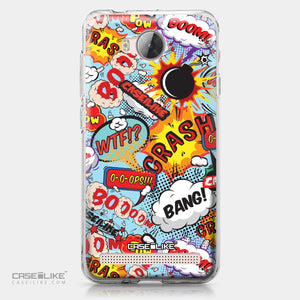 Huawei Y3 II case Comic Captions Blue 2913 | CASEiLIKE.com