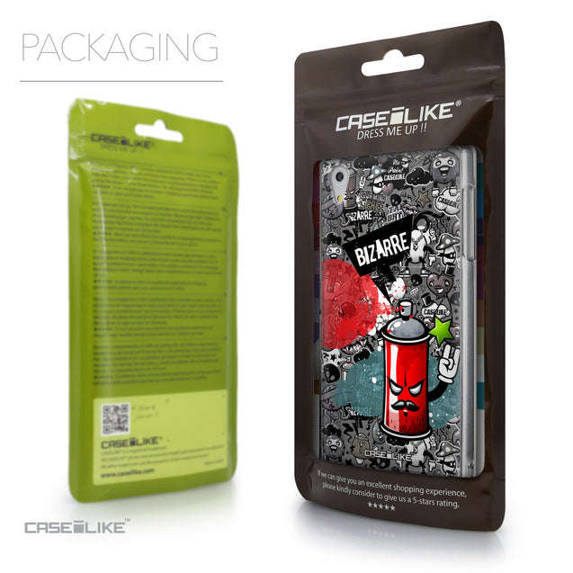Packaging - CASEiLIKE Sony Xperia Z5 back cover Graffiti 2705