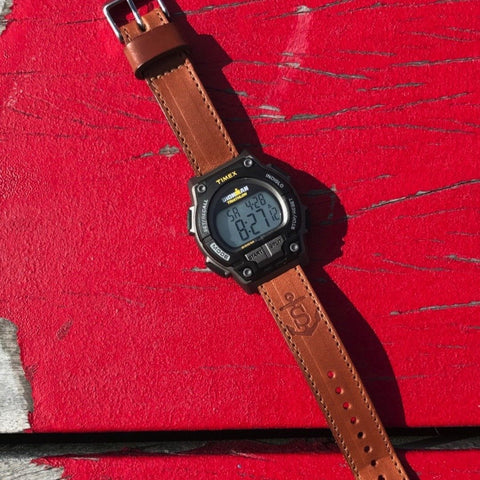 Timex Ironman Leather Watch Band