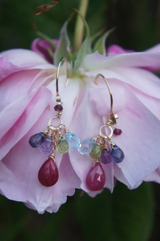 Prosperity Gem Earrings