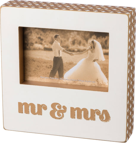 Box Frame - Mr and Mrs