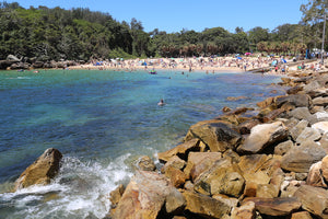 Shelly Beach at Manly in Sydney Australia.