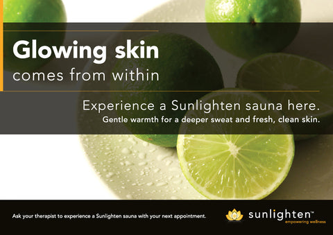 Promotional Poster #3 - Glowing skin comes from within