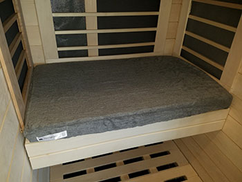 Signature Sauna Sauna Cushion Cover (1-4 person cabins) | FROM $40.00