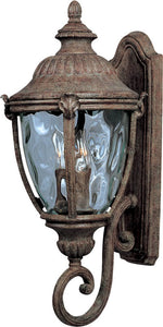 "26""h Morrow Bay Vivex 3-Light Outdoor Wall Mount Earth Tone"