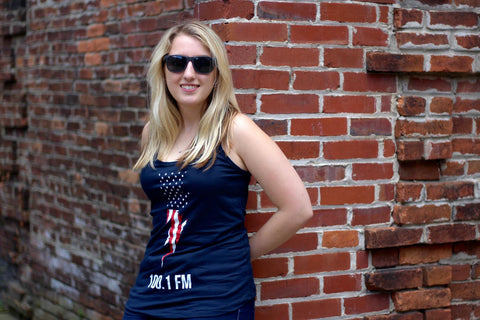 American Flag Tank Top - Women's
