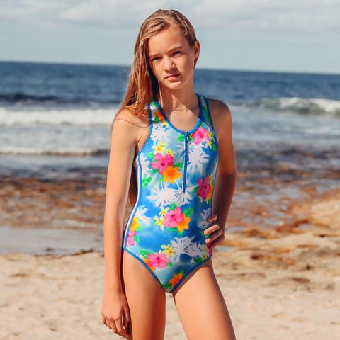 Salty Ink Coco Palms One Piece