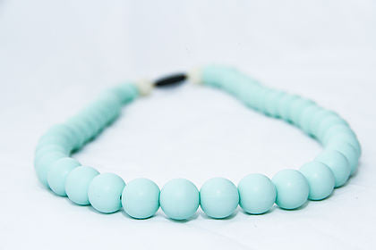 Gummy Wears Necklace in Mint Chewellery (Light Green) - Sweet Thing Baby & Childrens Wear