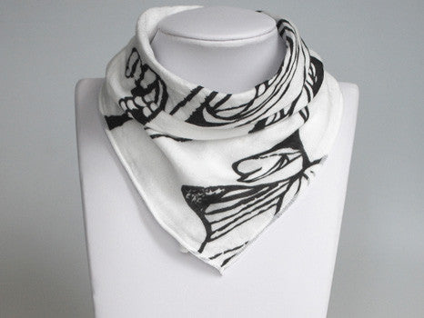 Nest Bamboo Bib Bandana Fish White Nest Designs Hip Mommies Canada