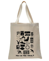 How Do You Travel? tote