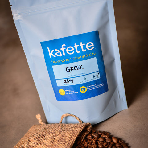 Premium Organic Greek Coffee - 8oz