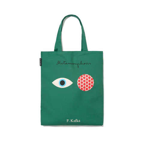 Tote Bag - Franz Kafka - Metamorphosis and The Castle
