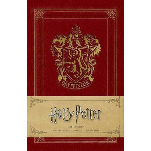 Notebook - Harry Potter - Gryffindor-Note Book-Book Lover Gifts