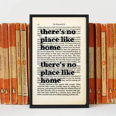 Book Print - There's No Place Like Home - Wizard of Oz