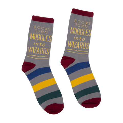 Socks - Books Turn Muggles into Wizards