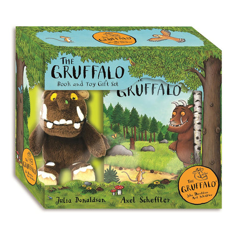 The Gruffalo : Book and Toy Gift Set-Game-Book Lover Gifts