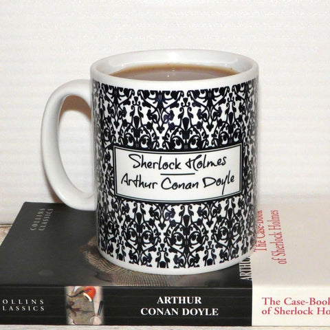 "Mug - Sherlock - ""Come at once if convenient...""-Mug-Book Lover Gifts"