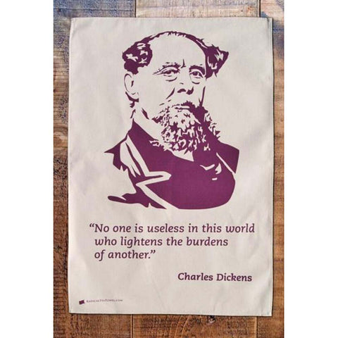 Tea Towel - Radical - Charles Dickens