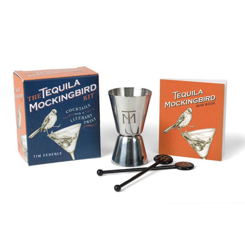 Kit - Tequila Mockingbird: Cocktails with a Literary Twist-Game-Book Lover Gifts