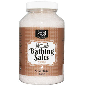 Vanilla Bathing Salts   600g
