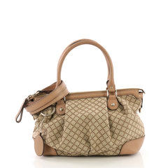 Gucci Sukey Top Handle Satchel Diamante Canvas Medium 38218173