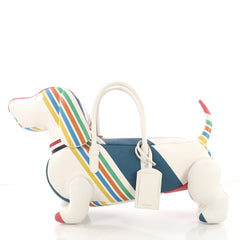 Thom Browne Hector Tote Printed Leather - Designer Handbag - Rebag