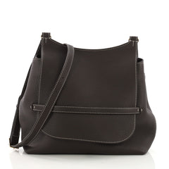 The Row Hunting Crossbody Bag Leather 11 Brown 397665