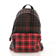 Givenchy Pocket Backpack Printed Cotton Twill Red 3994201
