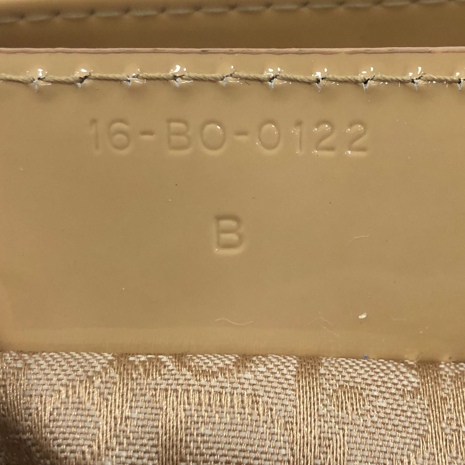 Lady Dior Handbag Cannage Quilt Patent Medium