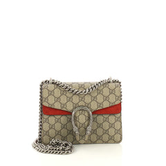 Gucci Dionysus Bag GG Coated Canvas Mini Brown 416931