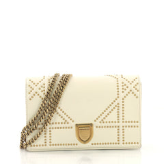 Christian Dior Diorama Wallet on Chain Studded Leather 4220701