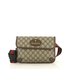 Gucci Animalier Flap Belt Bag GG Coated Canvas Brown 4311701
