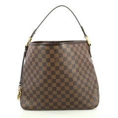 Louis Vuitton Delightful NM Handbag Damier PM Brown 435481