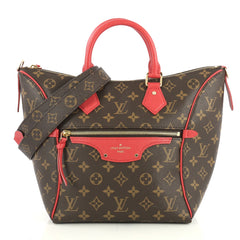 Louis Vuitton Tournelle Tote Monogram Canvas PM Brown 435765
