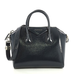 Givenchy Antigona Bag Patent Small Blue 436001