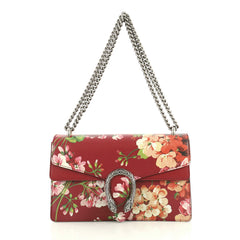 Gucci Dionysus Bag Blooms Print Leather Small Red 4393018