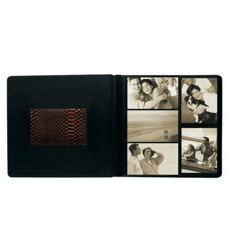 113 - Front-Framed Large Photo Album