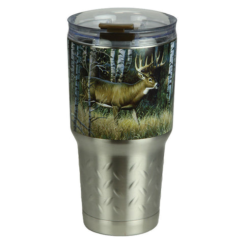 Deer 24 Oz Stainless Steel Tumbler