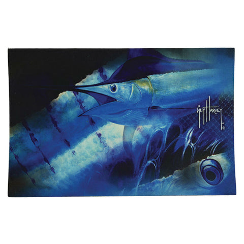 Guy Harvey Marlin Fishing Door Mat
